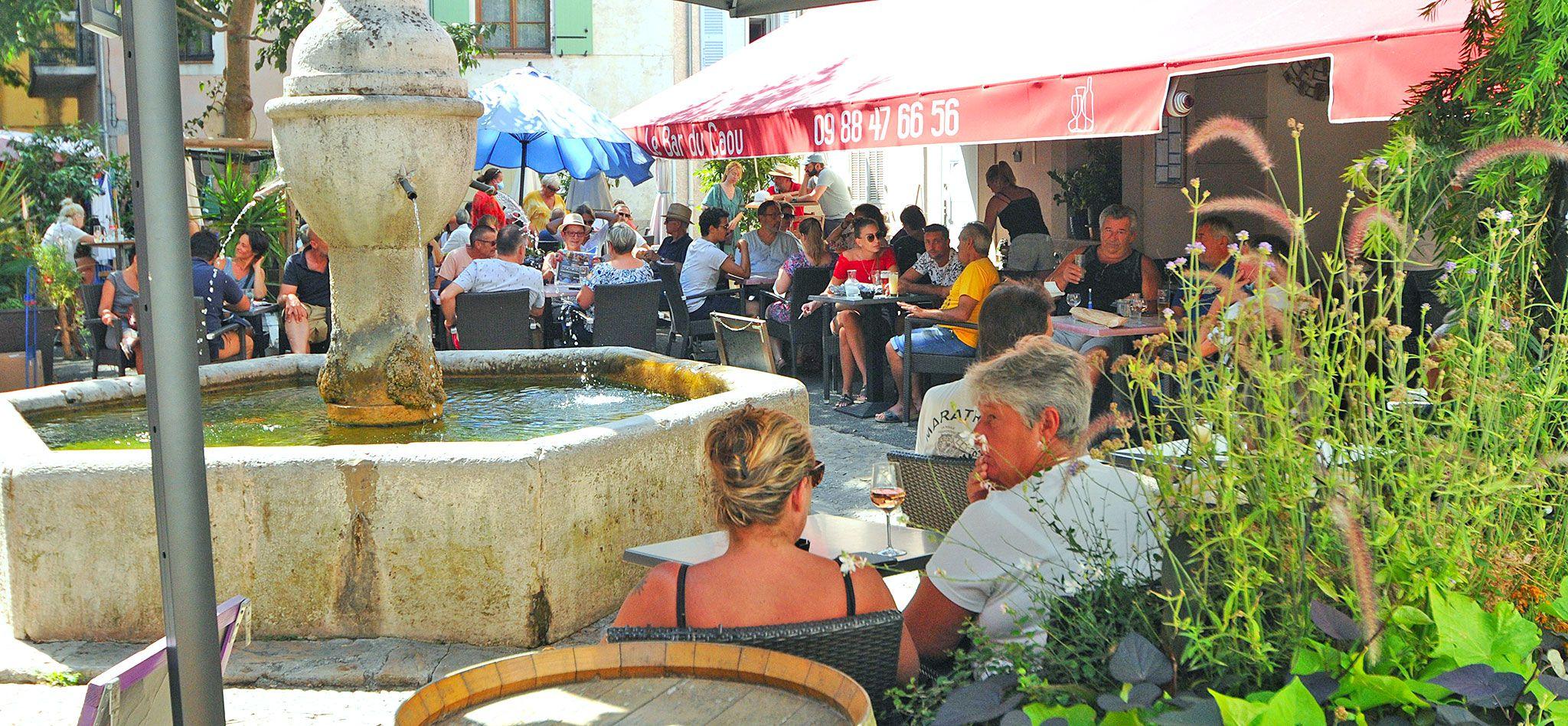 Le Bar du Caou - Figanières